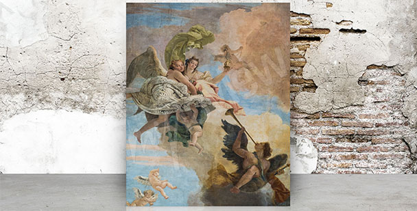 Obraz barokowy fresk
