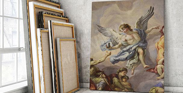 Obraz barokowy fresk wiedeński