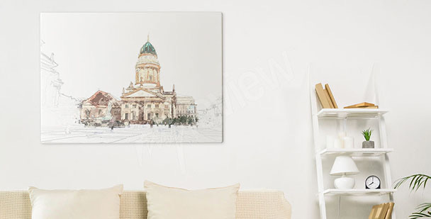 Obraz Berlin i katedra