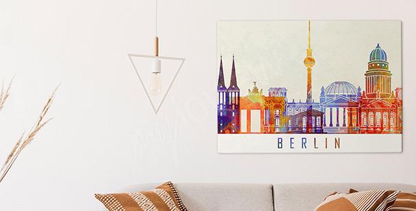 Obraz Berlin w akwareli