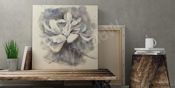 Obraz biała magnolia