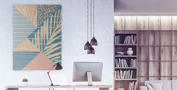Obraz biurowy abstrakcja