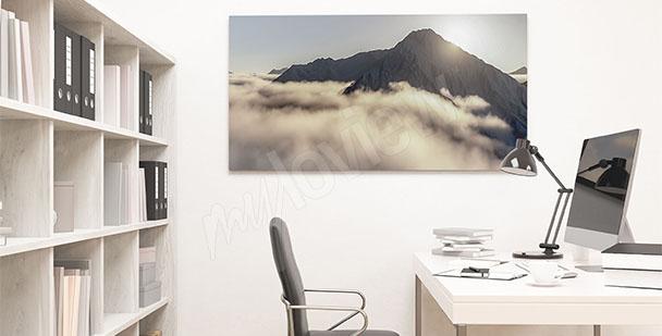 Obraz biurowy z krajobrazem