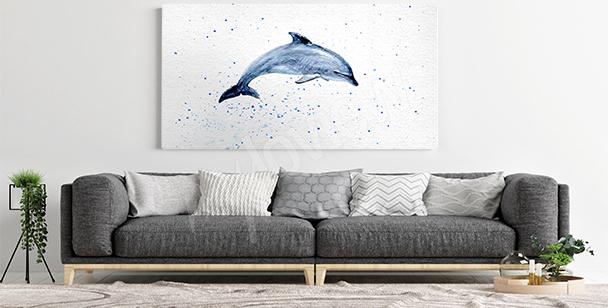 Obraz delfin fantasy