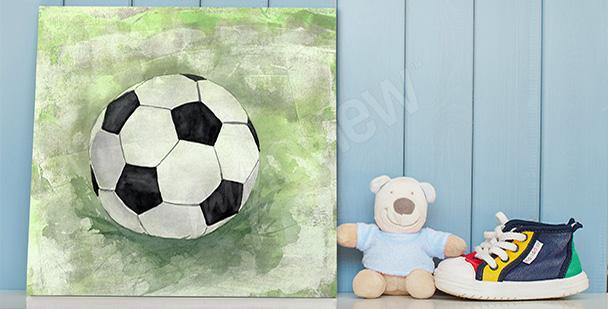 Obraz dla chłopca piłka nożna