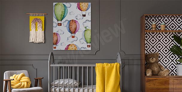 Obraz dla dzieci: balony