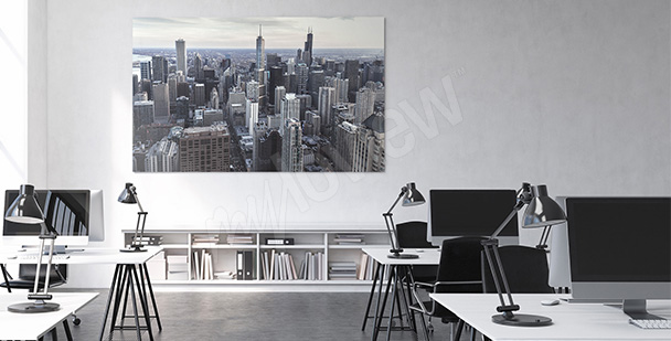 Obraz do biura wieżowce