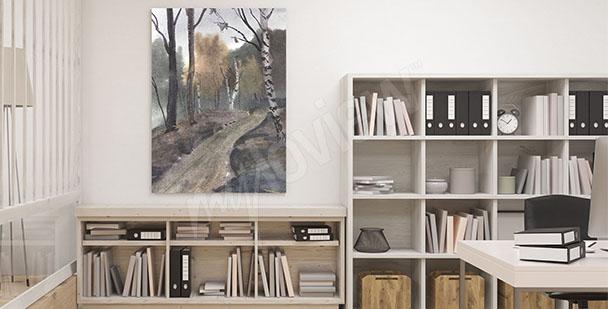 Obraz do domowego biura
