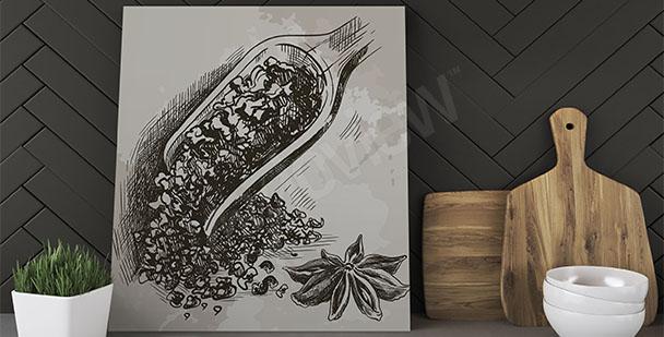 Obraz do kuchni herbata