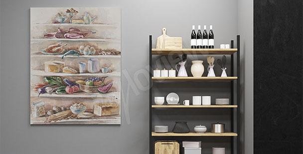 Obraz do kuchni potrawy