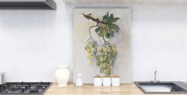 Obraz do kuchni winogrono