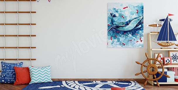 Obraz do pokoju dziecka: ryby