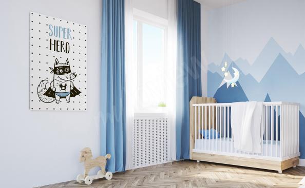Obraz do pokoju małego chłopca