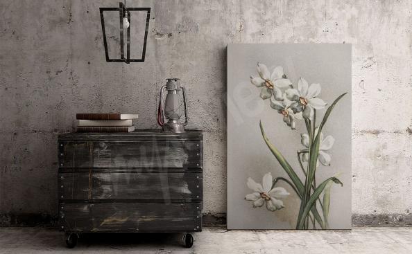 Obraz do przedpokoju z kwiatami