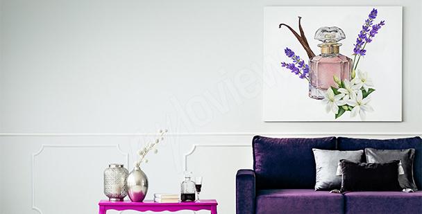 Obraz do salonu w stylu francuskim
