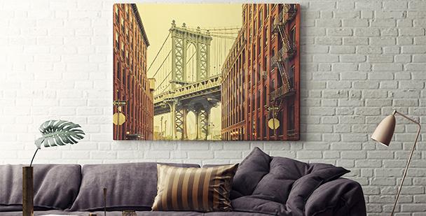 Obraz dzielnica Brooklyn