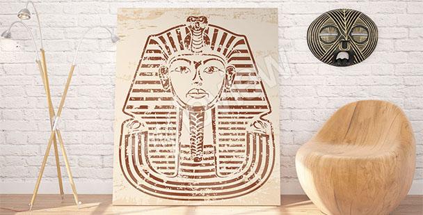 Obraz egipski faraon