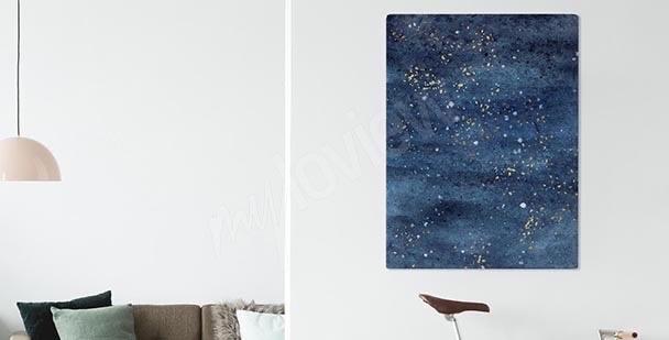 Obraz kosmiczny motyw gwiazd