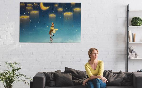Obraz gwiazdy do salonu