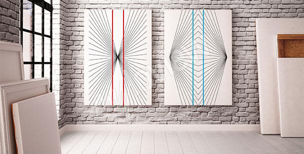 Obraz iluzja optyczna 3D