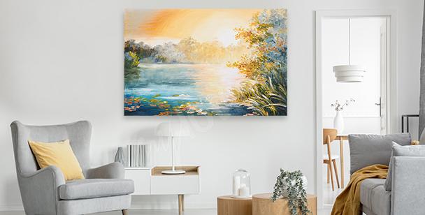 Obraz malarstwo impresjonistyczne