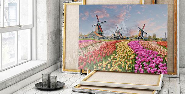 Obraz inspiracje holenderskie
