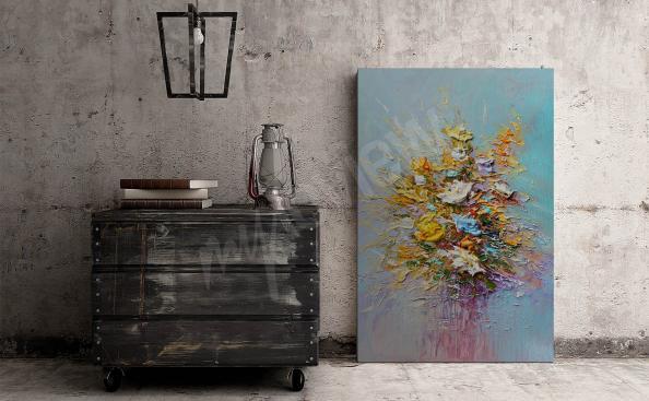 Obraz inspirowany malarstwem olejnym