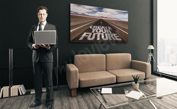 Obraz inspirująca przyszłość