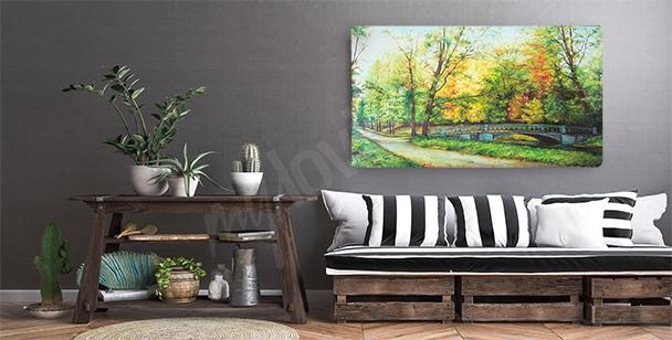 Obraz drzewo minimalizm