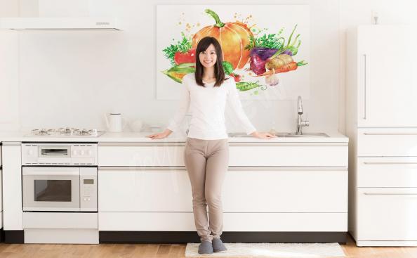 Obraz jesienne warzywa do kuchni
