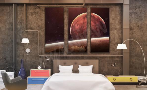 Obraz kosmos do sypialni