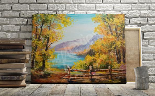 Obraz krajobraz jesienny
