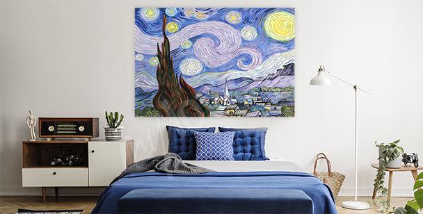 Obraz krajobraz van Gogha