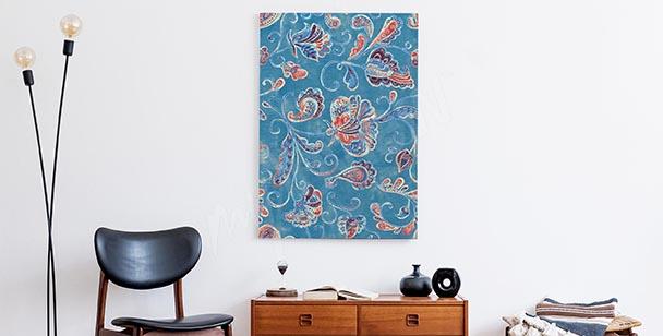 Obraz kwiatowa akwarela
