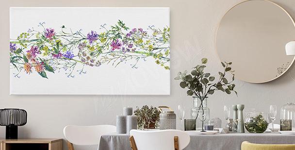 Obraz kwiaty egzotyczne