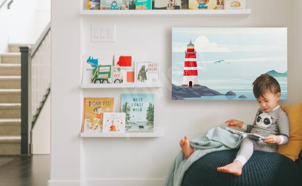 Obraz latarnia morska do pokoju dziecka
