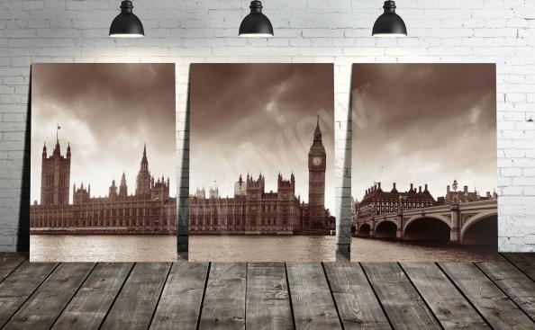 obraz Londyn w sepii