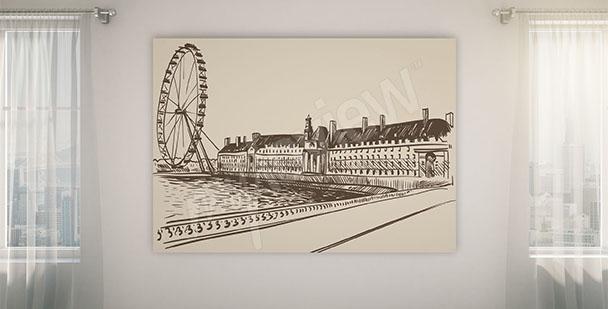 Obraz londyńskie inspiracje