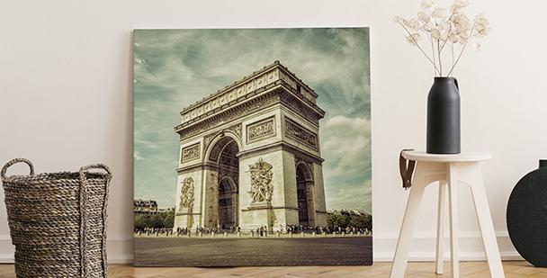 Obraz Łuk Triumfalny w Paryżu