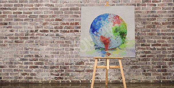 Obraz mapa Ziemi