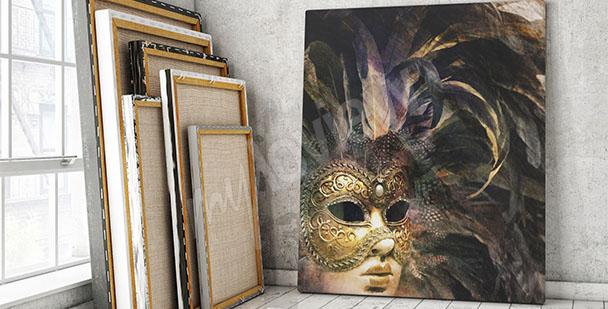 Obraz maska karnawałowa