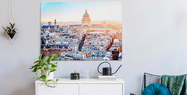 Obraz miasto Paryż