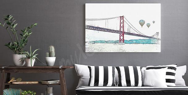 Obraz miasto w Portugalii