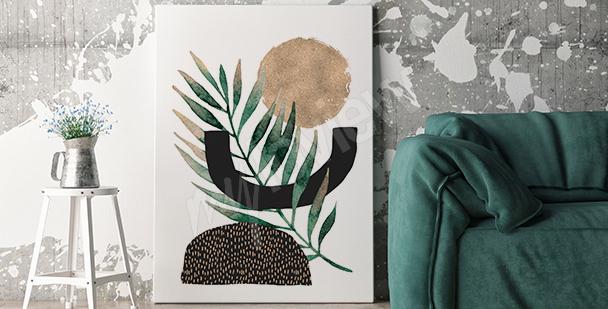 Obraz minimalistyczny do salonu