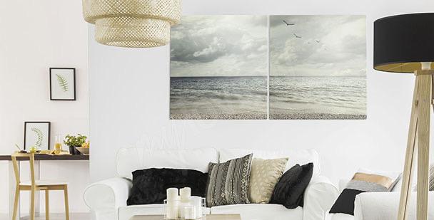 Obraz morski krajobraz