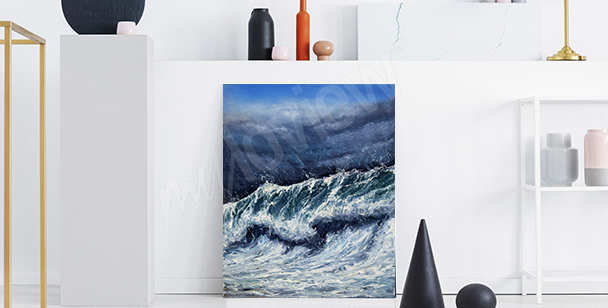 Obraz morze do przedpokoju