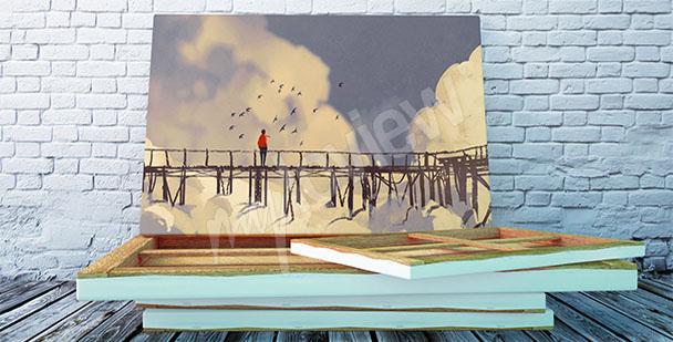 Obraz most na wysokości