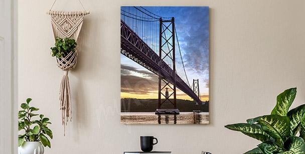 Obraz most wiszący