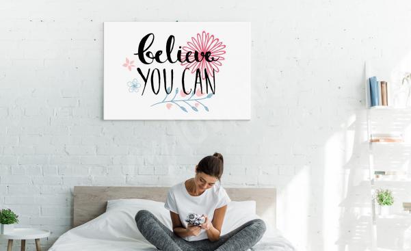 Obraz motywacja do sypialni