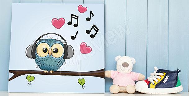Obraz muzyka dla dziecka